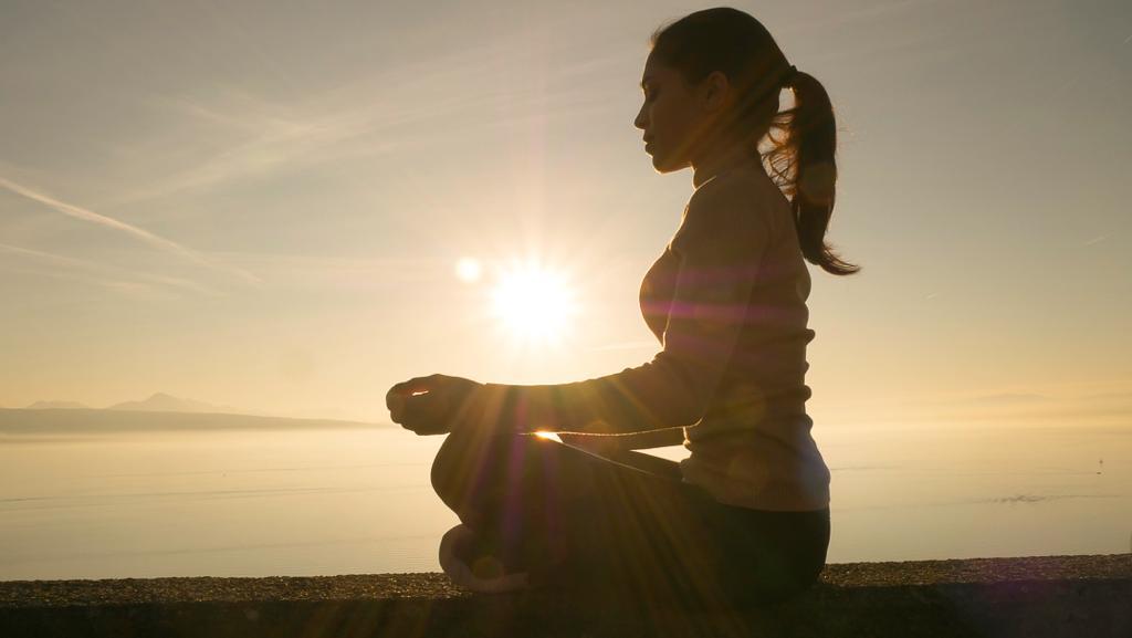 Kamila Meditating