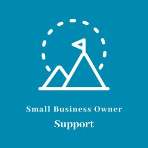 Small Business Owner Support Icon