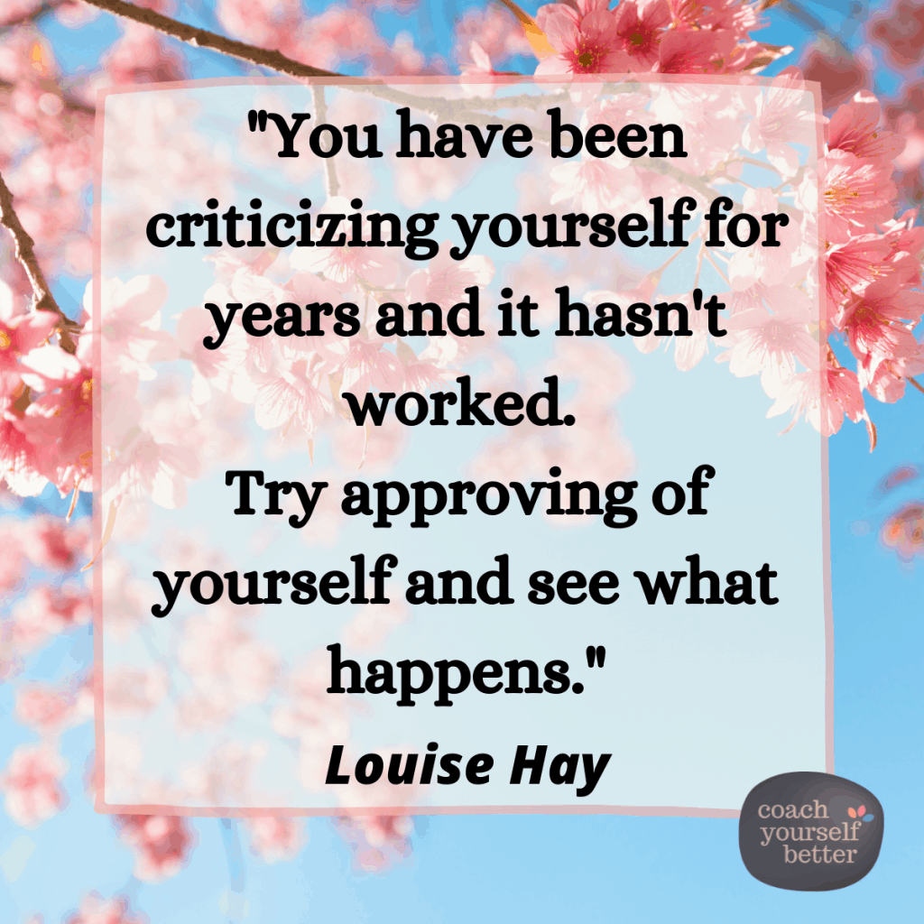 Louise Hay Approving cherry blossom